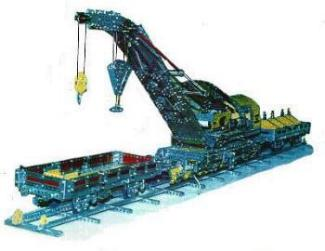 """Buckerill"" Railway Breakdown Crane"