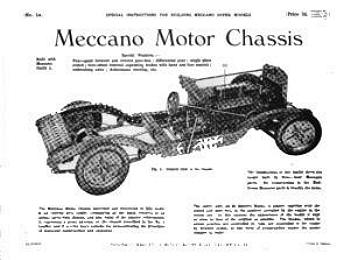 MOTOR CAR CHASSIS (REVISED)