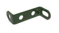 Narrow Reversed Angle Bracket 25mm (green)