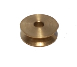 Pulley 13mm dia without boss, brass