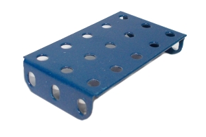 Flanged Plate, 5x3 holes