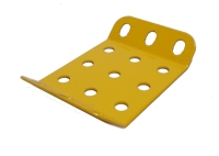 Obtuse Flanged Plate 3x3 hole