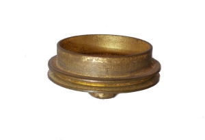 Flanged/Pulley Wheel 28mm, brass (used)