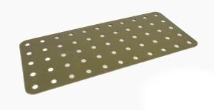 Army Green Flat Pate 11x5 holes