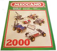 Meccano Outfit 2000 Instruction Book