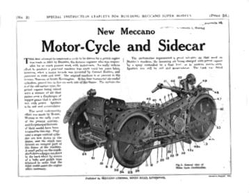 MOTOR CYCLE & SIDECAR