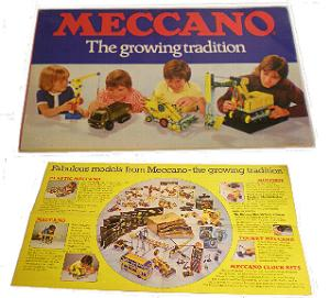 Meccano 1970's Products Leaflet
