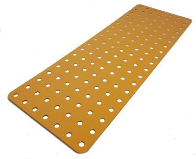 Flat Plate 19x7 holes (UK Yellow)
