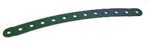 Curved Strip (stepped) 13 holes, 305mm radius