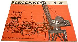 Meccano Set 4/5/6 Model Book