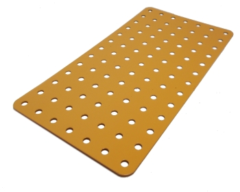 Flat Plate 13x7 holes (UK Yellow)