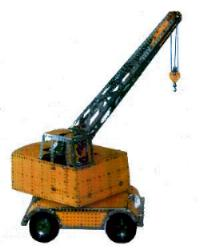 Coles Six Ton Mobile Crane (Set 10 model)