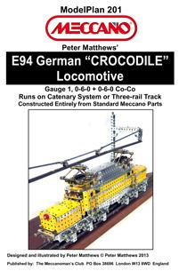 "E94 German ""CROCODILE"" Locomotive"