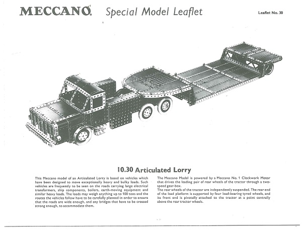 ARTICULATED LORRY
