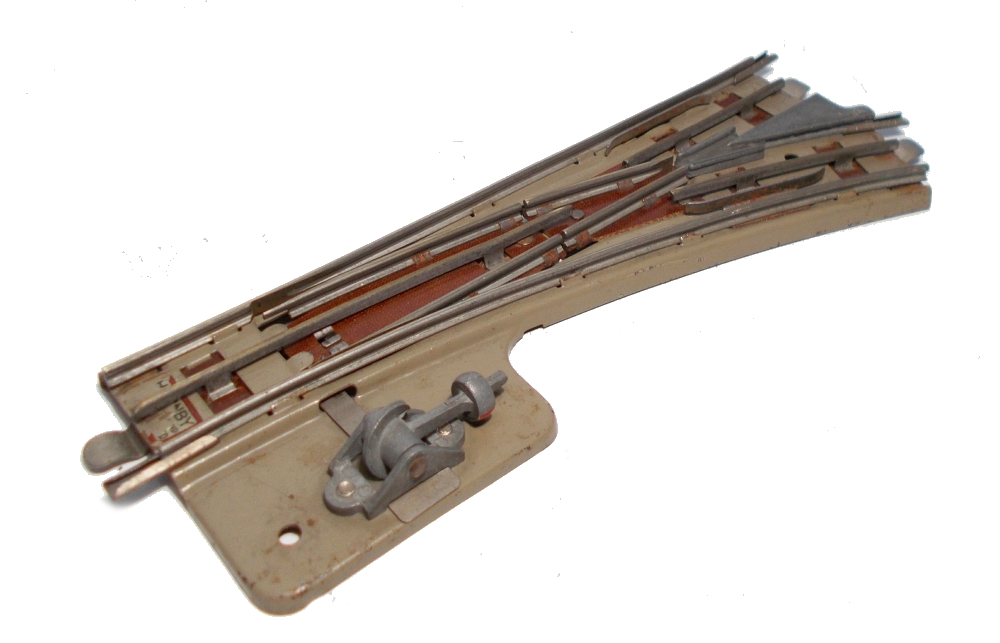 Hornby Dublo 3-rail Manual Point Right Hand