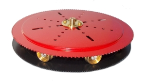 Small Geared Roller Bearing (red)