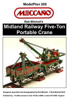 Midland Railway Five-Ton Portable Crane