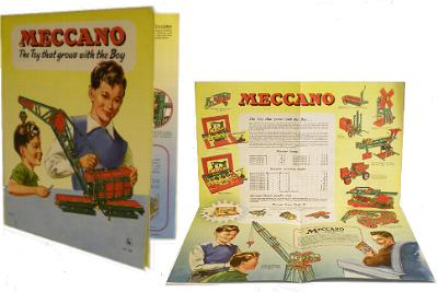 Meccano 1957 Products Leaflet