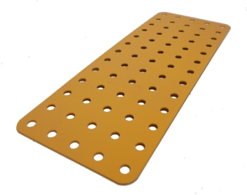 Flat Plate 13x5 holes, UK Yellow