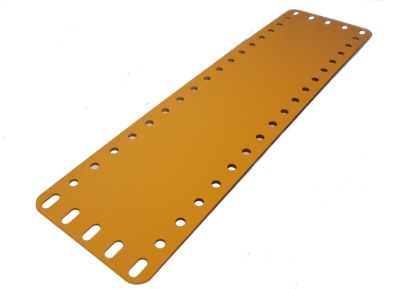 Flexible Strip Plate 19x5 holes, UK yellow