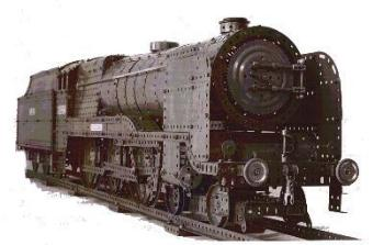4-6-0 Express Locomotive