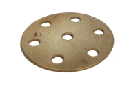 Wheel Disc 6 holes, brass