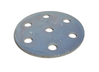 Wheel Disc 6 holes, zinc