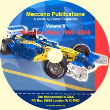 Meccano Publications on CD Volume 9 - Meccano Sets 1998-2006