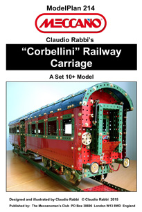"""Corbellini"" Italian Railway Carriage (Set 10 model)"
