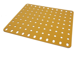 Flat Plate 9x11 holes (UK Yellow)