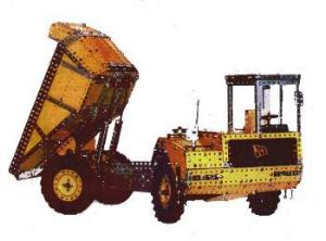 JCB 712 Articulated Dump Truck (Set 10+ model)
