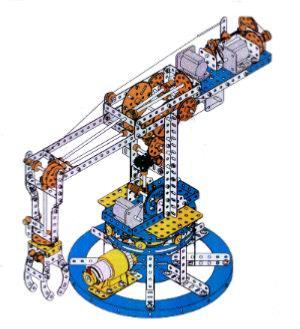 A Simple Meccano Robot