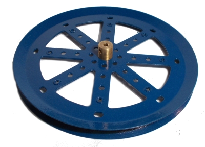 Pulley 150mm dia (blue)