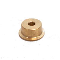 Flanged Wheel 12.5mm dia without boss, brass