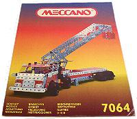 Meccano Master Builder Set Model Book