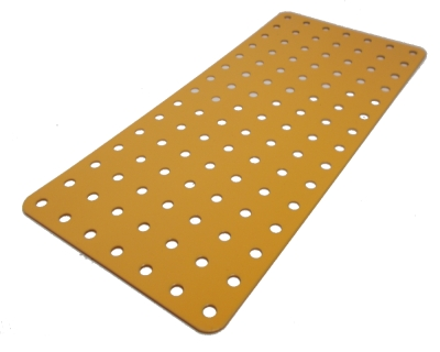 Flat Plate 15x7 holes (UK Yellow)