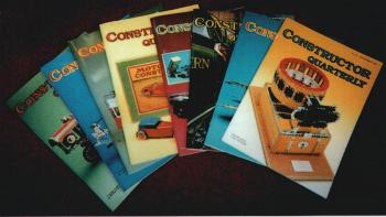 Constructor Quarterly Magazine (Issues 1-19)