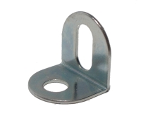 Angle Bracket 1x1 hole, stainless steel