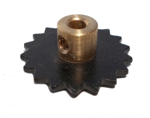 Sprocket Wheel 18T, 25mm dia