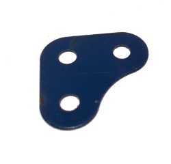Corner Bracket 2x2 holes, UK Dark Blue