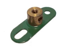 Double Arm Crank, threaded boss (green)