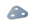 Triangular Flat Plate, 2x2 holes