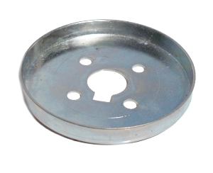 Wheel Flange 56mm dia, zinc