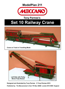 Railway Crane (Set 10 model)