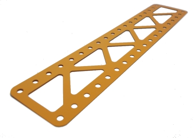 Braced Girder19x5 holes, UK Yellow