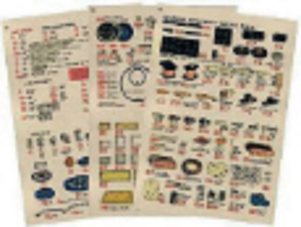 Meccano Parts Illustrated Walchart