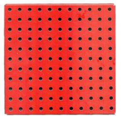 Flanged Plate, 11x11 holes