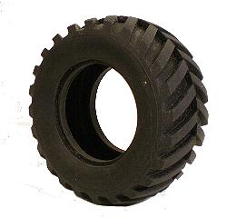 Large Tread Tyre for 2xFace Plate