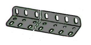 Girder Bracket 9x2x1 hole