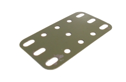 Army Green Flexible Pate 5x3 holes